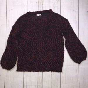 Andree by Unit Black & Red Sweater